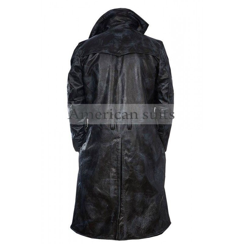 Be a part of Movie blade runner 2049 and buy this amazing leather coat with fur worn by Ryan Gosling for only $169.99 for freee delivery all over the world.